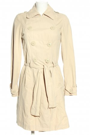 Promod Trenchcoat wollweiß Business-Look