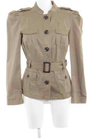 Promod Trenchcoat beige-dunkelbraun Casual-Look
