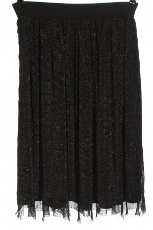 Promod Jupe en tulle noir style mouillé