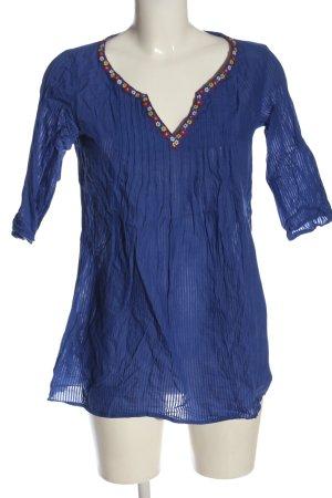 Promod Tunikabluse blau Casual-Look