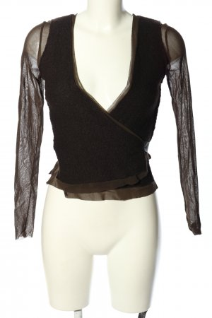 Promod Wraparound Jacket black-brown casual look