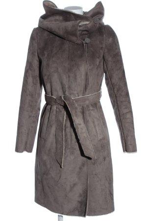 Promod Manteau d'hiver gris clair élégant