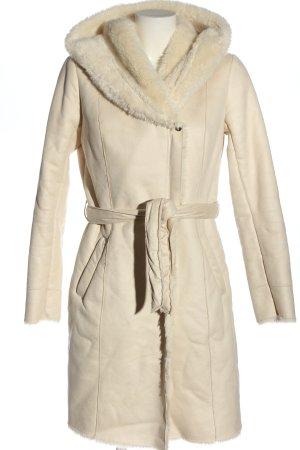 Promod Płaszcz zimowy w kolorze białej wełny Elegancki