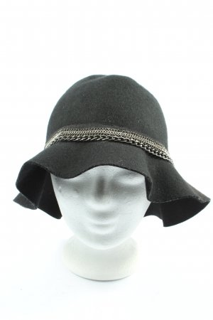 Promod Woolen Hat black-silver-colored casual look