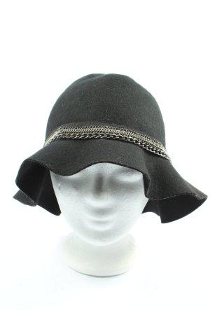 Promod Cappello di lana nero-argento stile casual