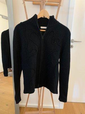 Promod Fleece Coats black wool