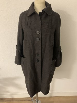Promod Abrigo de piloto marrón oscuro