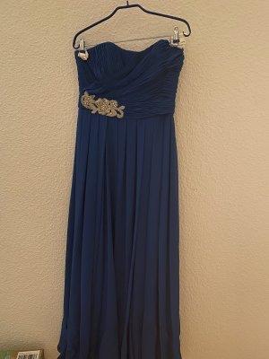 Pronovias Evening Dress blue-silver-colored