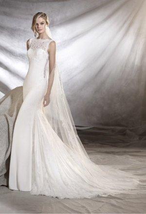 Pronovias Vestido de novia blanco