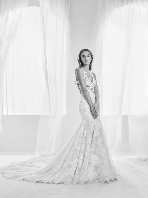 Pronovias Abito da sposa bianco