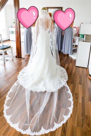 Pronovias Vestido de novia blanco-blanco puro