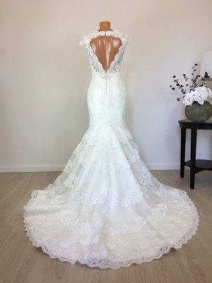 Pronovias Brautkleid Hochzeitskleid Standesamtkleid Gr. S/36-38 Ivory