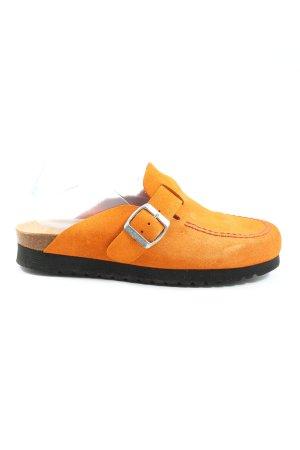 propedo Sabots light orange casual look