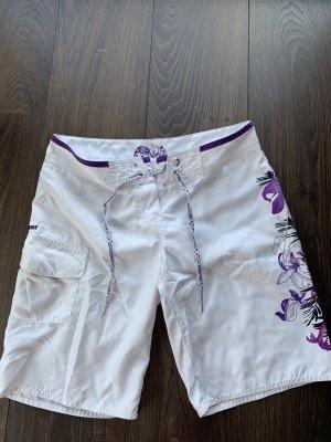 Protest Shorts de bain blanc-violet