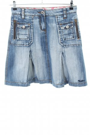 Protest Jeansrock blau Casual-Look