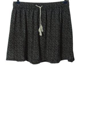 Protest Mini-jupe gris clair-noir moucheté style décontracté
