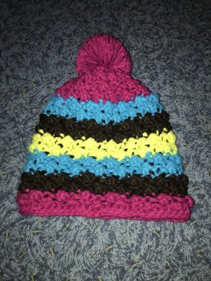 Protest Knitted Hat multicolored