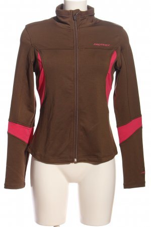 Protest Outdoorjacke braun-pink Casual-Look