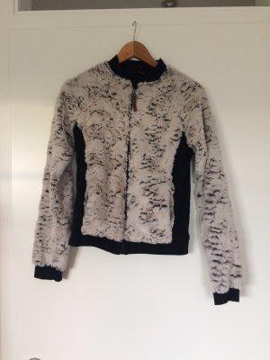 Protest Pullover-Jacke mit Kunstfell
