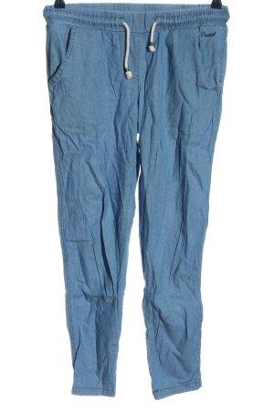 Protest Pantalon en jersey bleu style décontracté