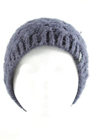 Protest Cappello a maglia blu stile casual