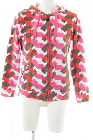 Protest Reversible Jacket spots-of-color pattern athletic style
