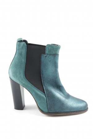 Provocateur Ankle Boots türkis Business-Look