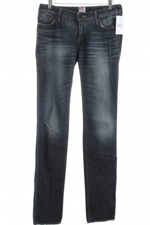 Prps Slim Jeans dunkelblau Washed-Optik