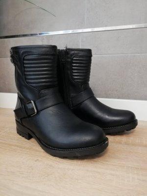 PS Poelman Stiefeletten Biker Boots 37