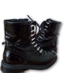 PS Botas con tacón negro