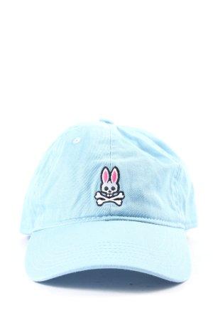 Psycho Bunny Cappello da panettiere turchese Stampa a tema stile casual