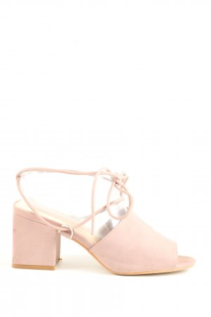 Public Desire High Heel Sandaletten creme Business-Look