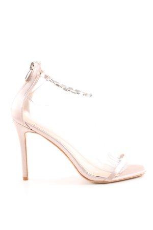 Public Desire High Heel Sandaletten pink Casual-Look