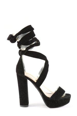 Public Desire High Heels schwarz Elegant