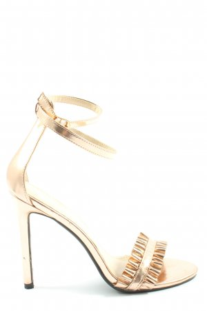 Public Desire High Heels goldfarben Elegant