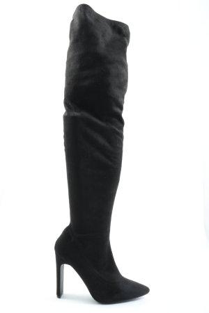 Public Desire Kniehoge laarzen zwart elegant