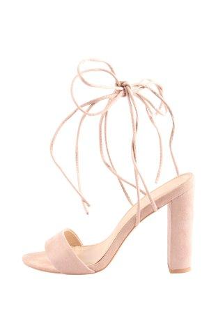Public Desire Riemchen-Sandaletten pink Casual-Look