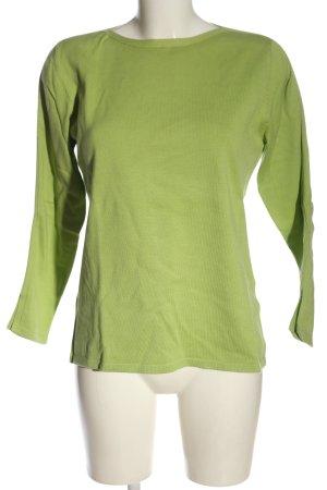 Public Feinstrickpullover grün Casual-Look