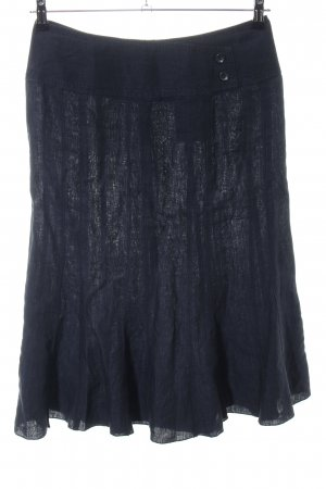 Public High Waist Rock blau Casual-Look