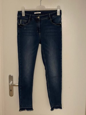 Public Jeans Gr.38 Slim Fit blau Hose
