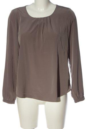 Public Langarm-Bluse lila Casual-Look