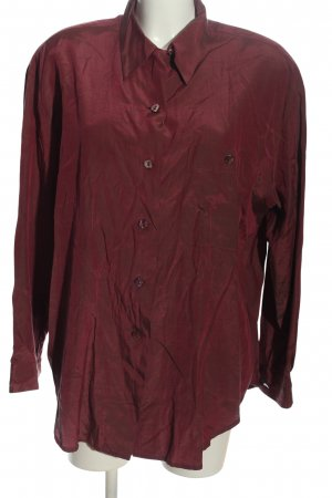 Public Langarmhemd rot Casual-Look