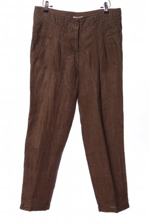 Public Linen Pants brown flecked casual look