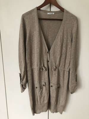 Public Long-Strickjacke