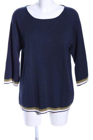 Public Rundhalspullover blau Casual-Look