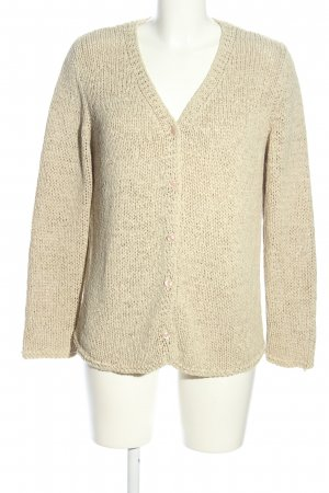 Public Strickjacke creme Casual-Look