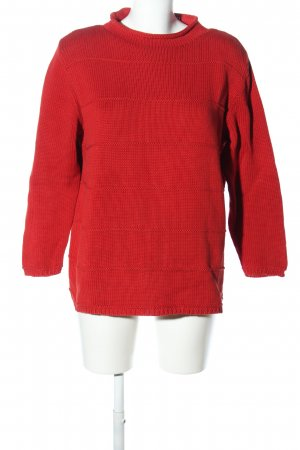 Public Strickpullover rot Casual-Look