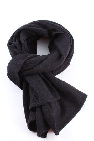 Public Gebreide sjaal zwart casual uitstraling