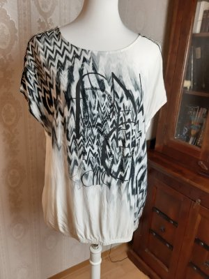 Public T-Shirt Allover-Druck Casual-Look