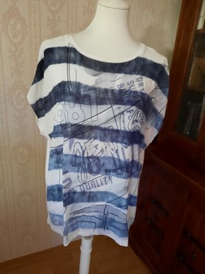 Public T-Shirt Schriftzug Casual-Look